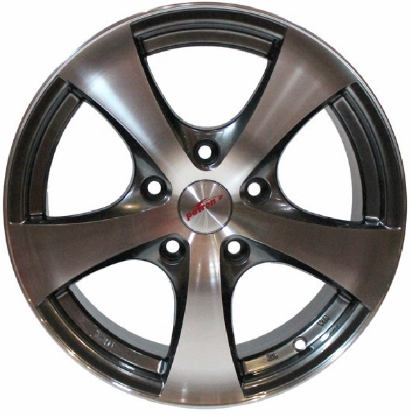 7.0X16 5/120 ET25 D74.1 PW248P BLACK